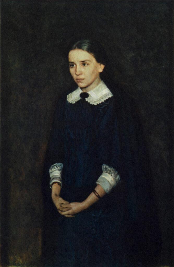 картина Ярошенко Н. Портрет актрисы П. А. Стрепетовой
