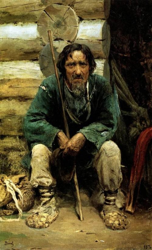"""""""Сказитель Никита Богданов"""" (1876)"""