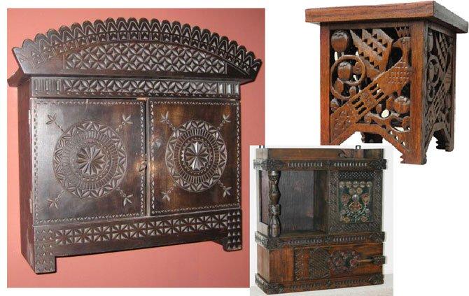 резная мебель, автор Поленова Е.