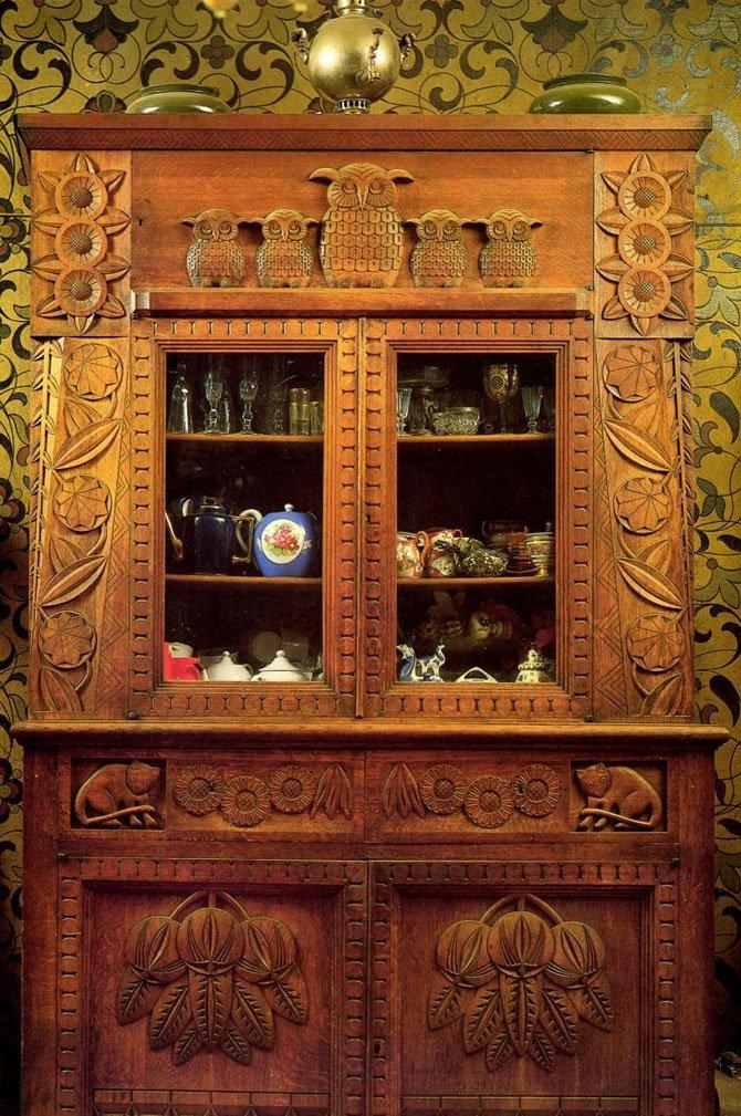 Мебель по эскизам Поленовой