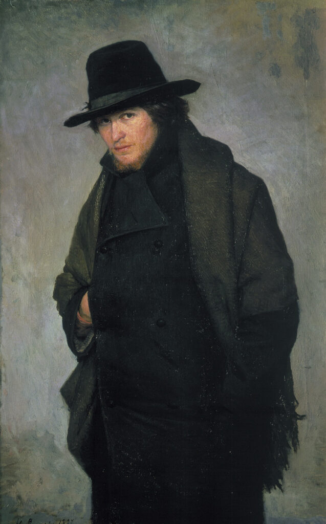 картина Ярошенко Студент, 1881