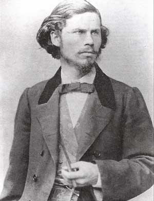 художник Н. И. Крамской в годы учебы в Академии художеств.