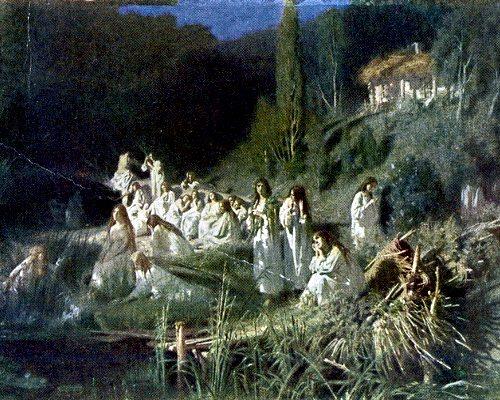 """картина Крамского """"Русалки"""" 1871"""