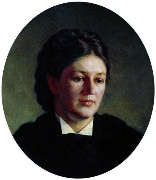 картина Ярошенко Н. Портрет Марии Павловны Ярошенко. 1875