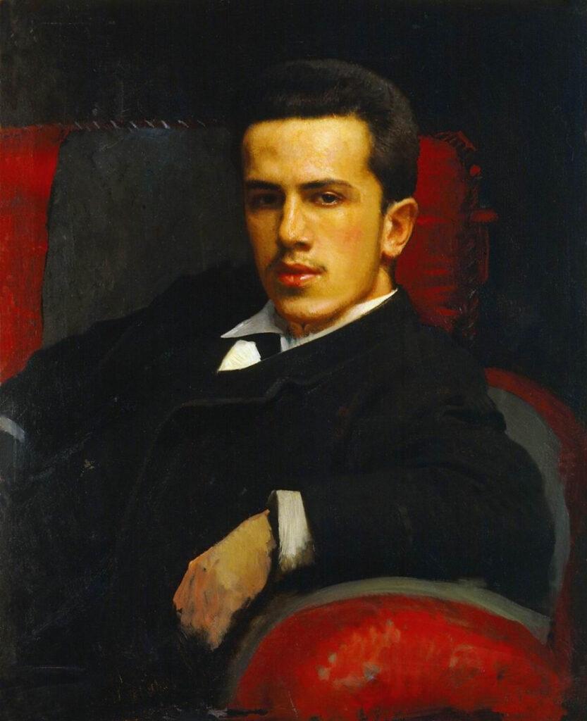 картина Крамского Портрет Анатолия Крамского, сына художника