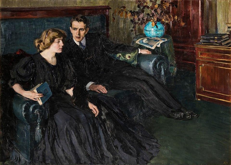 "Е. Киселева ""Ревность"" (1907)"