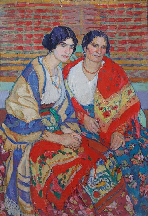 "Киселева Е. ""Мать и дочь"" (1911)"