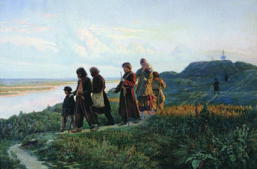 """""""Слепцы"""", картина Ярошенко Н."""