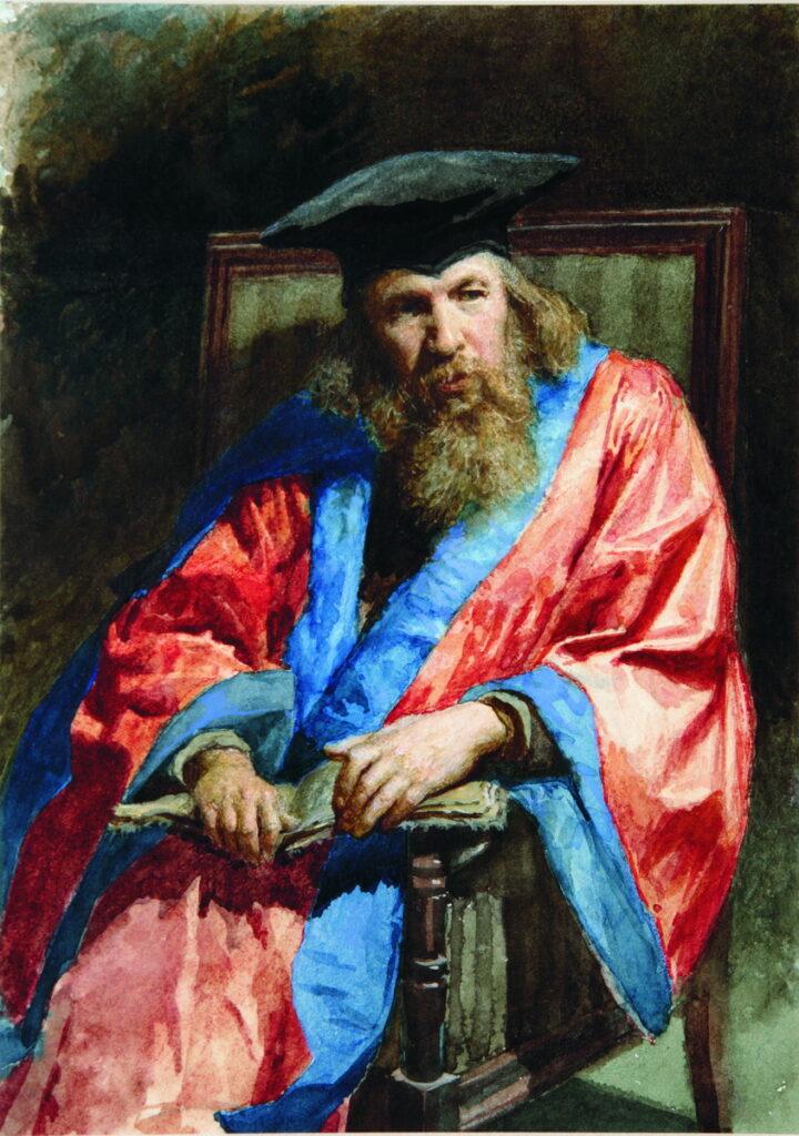 картина Ярошенко Н. Портрет Д. И. Менделеева.
