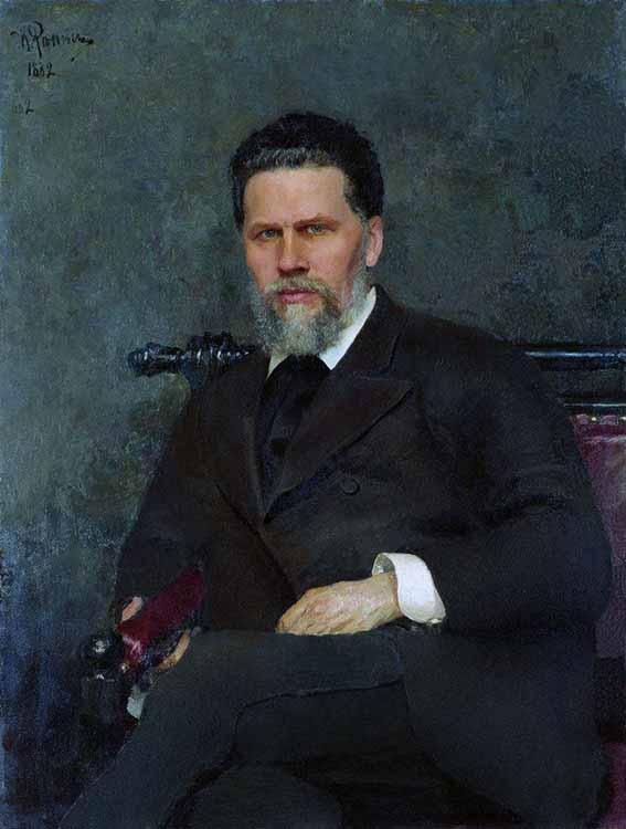 Крамской - основатель общества передвижнков