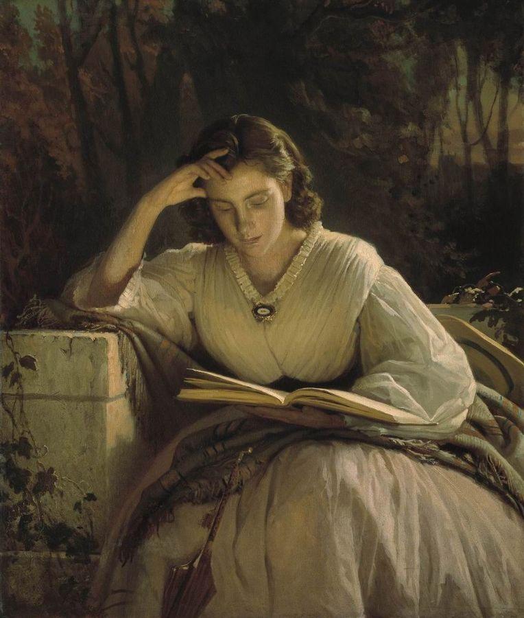 Портрет С. Н. Крамской, художник Крамской